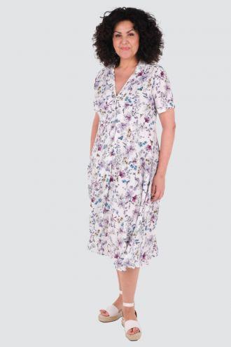Violet kjole